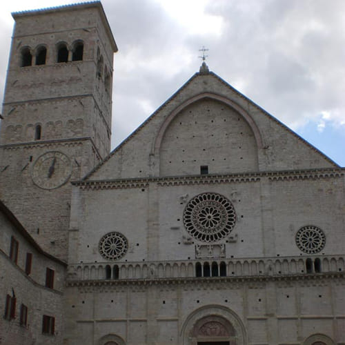 Laudes creaturarum Basilica di San Francesco Assisi 1
